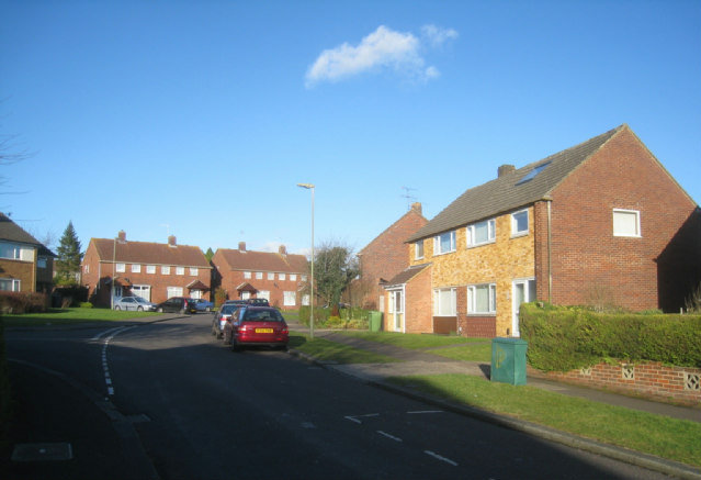 Top end of Mansfield Road