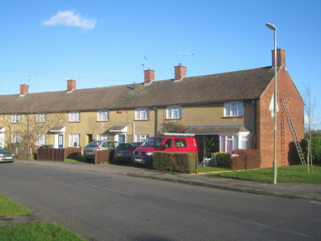 Houses along Sandys Road