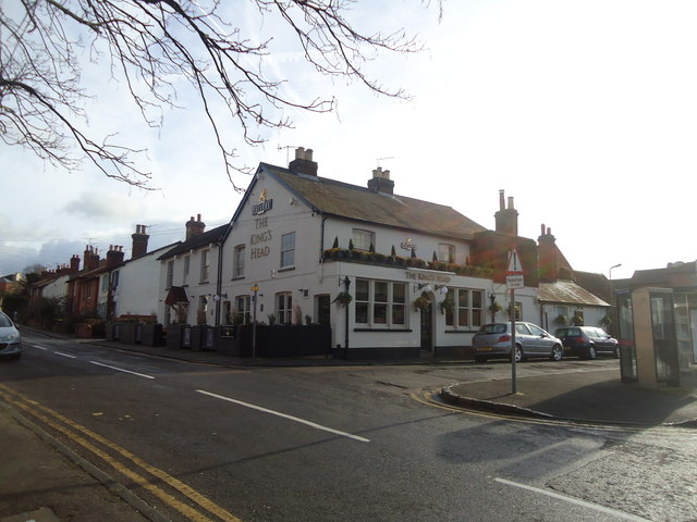 The Kings Head public house, Kings Road, Guildford