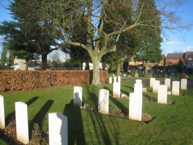 War Graves - Basingstoke cemetery