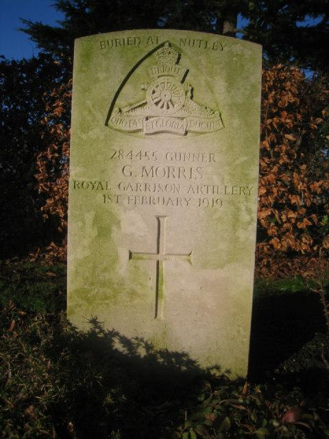 Gunner G. Morris