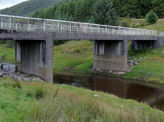Tywi Bridge over Llyn Brianne/Afon Tywi