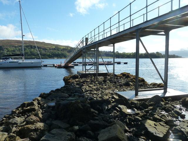 New Pontoon, Loch Aline