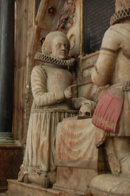 Elizabeth Smythe, Sr John Smythe tomb, St Mary's church