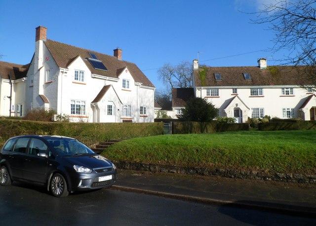 Maes-y-ffynon houses, Bonvilston