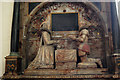 TR0142 : Sir John & Elizabeth Smythe memorial, St Mary's church, Ashford by Julian P Guffogg