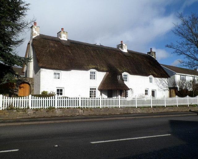 Grade II listed former Village Farm farmhouse, Bonvilston