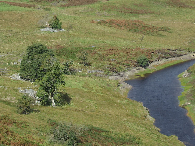 Afon Tywi/Llyn Brianne south-east of Soar-y-Mynydd, Ceredigion