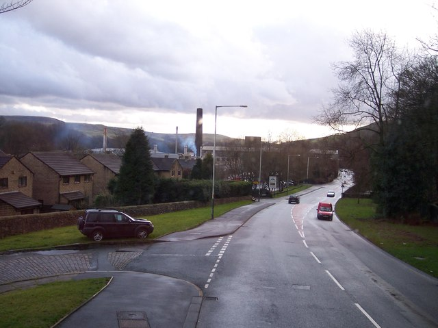 Industry at Reeds Holme on Burnley Road