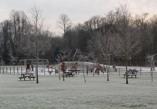 Playpark in Pollok Park