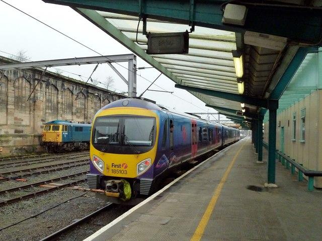 Platform 1, Carlisle Railway Station