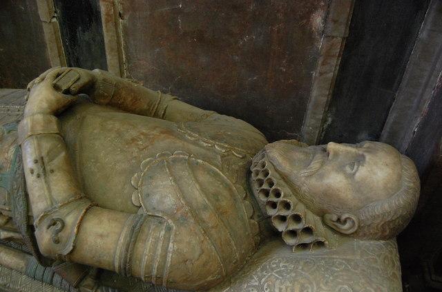 Sir Richard Smythe, St Mary's church, Ashford