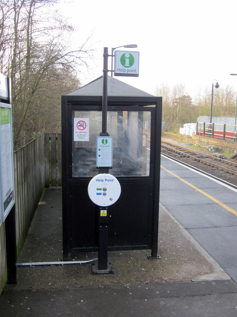 "Bromsgrove Station Platform Two Waiting ""Room"""