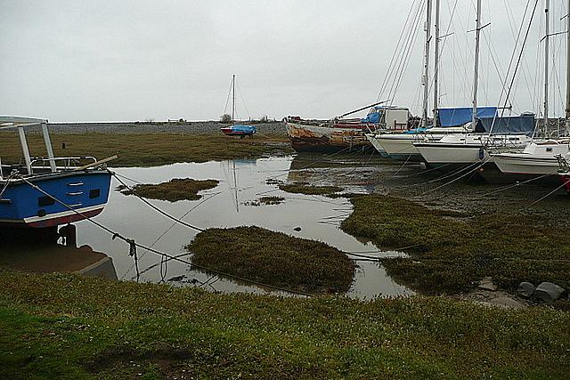 Boats at Porlock Weir