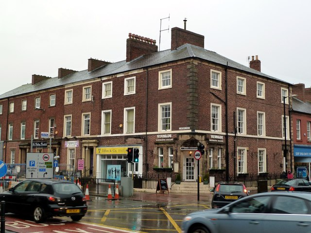 Lowther Street/Bank Street junction