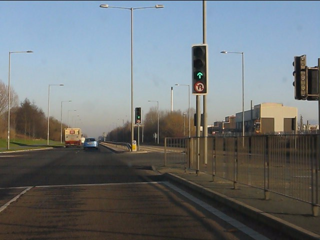 A580 at Knowsley Business Park