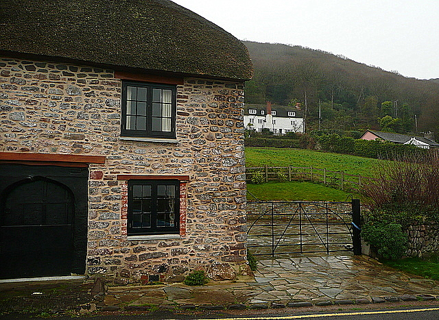 Cottages at Porlock Weir