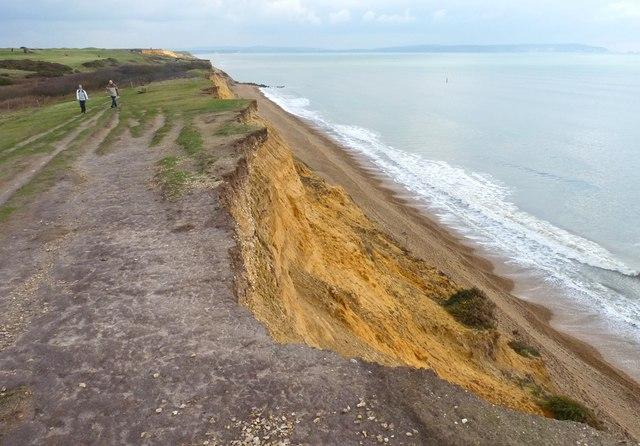 Crumbling Cliff Edge
