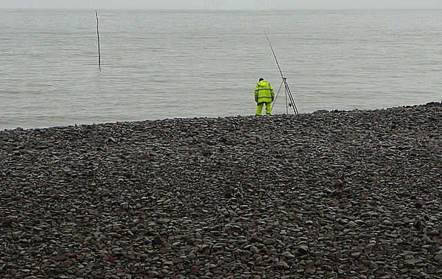 Sea fishing at Porlock Weir