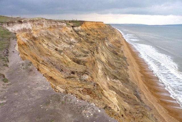 Spectacular Cliff Erosion