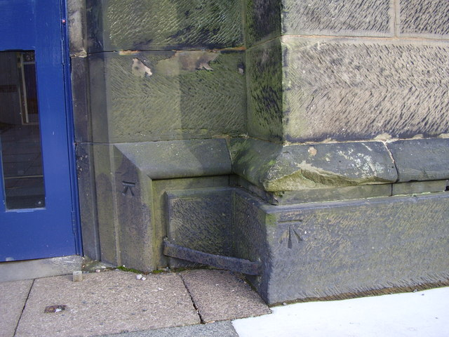 Ordnance Survey benchmark on Holy Trinity Church