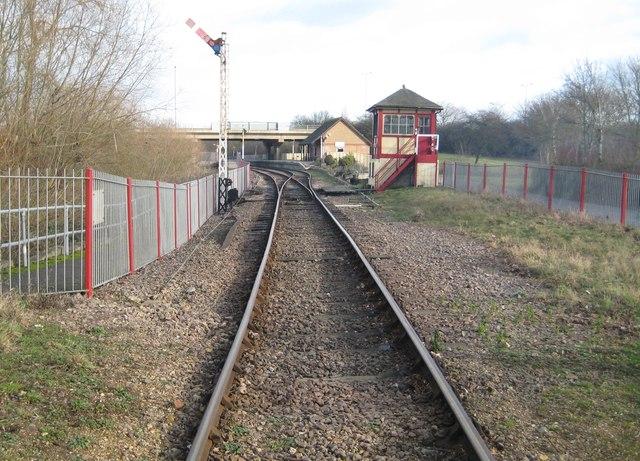 Nene Valley Railway: Orton Mere Station (1)