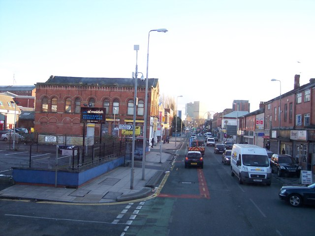 Great Ducie Street at Strangeways
