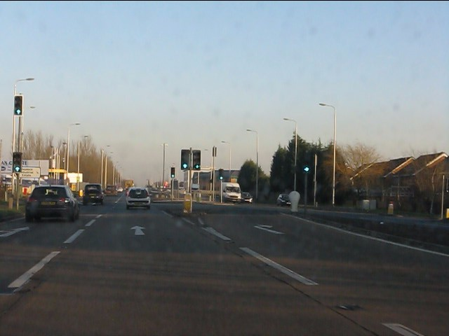 A580 - Haydock Lane crossroads