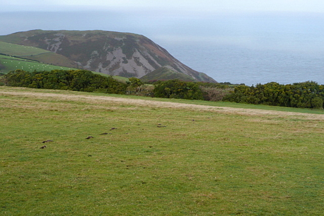 View from Countisbury Common