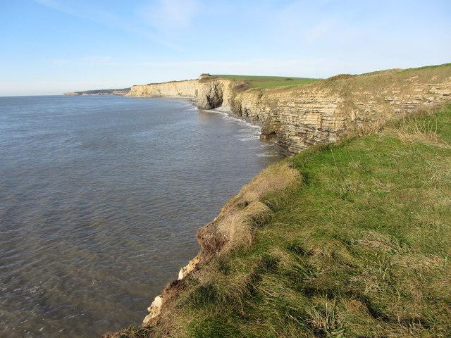 Glamorgan coast from Stout Point
