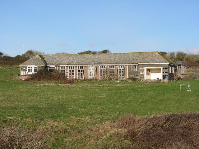 Former Christian Centre buildings at Boverton