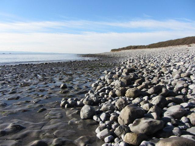 Glamorgan Coast at Penry Bay