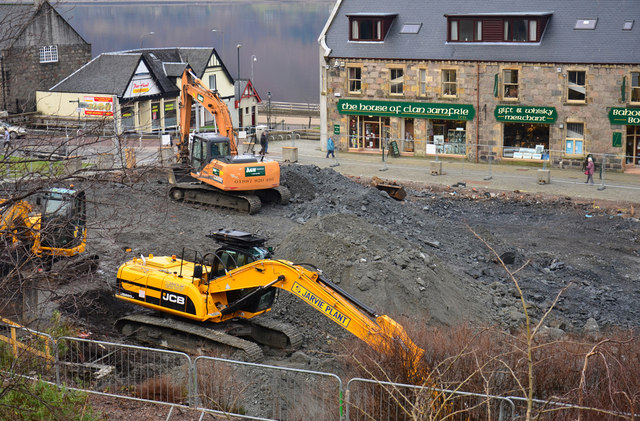 Building site - Fort William