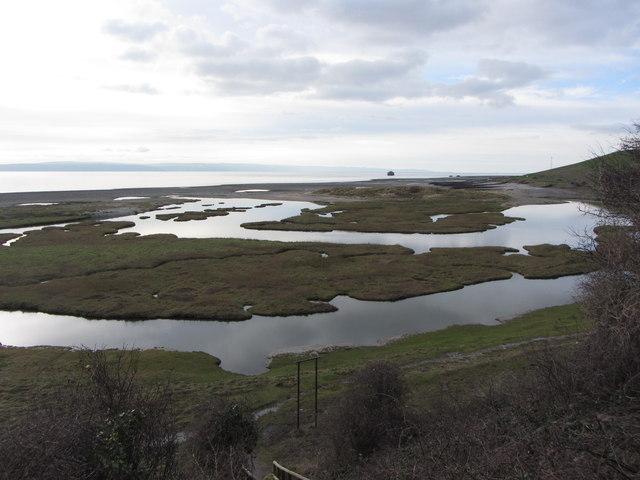 Glamorgan coast near Aberthaw