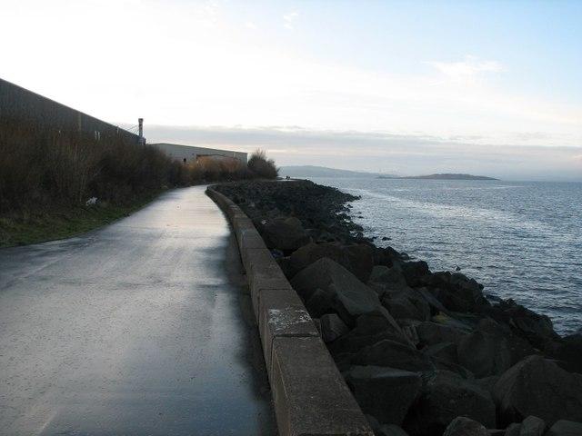 Waterfront path