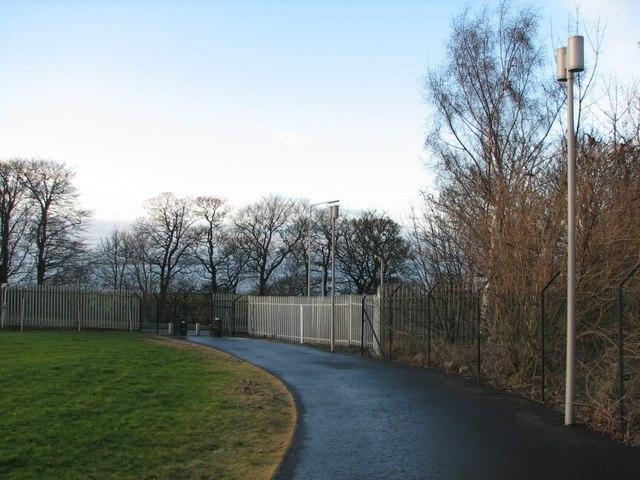 West Shore Road gate