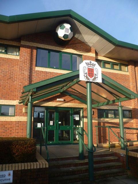 Headquarters of Lancashire Football Association