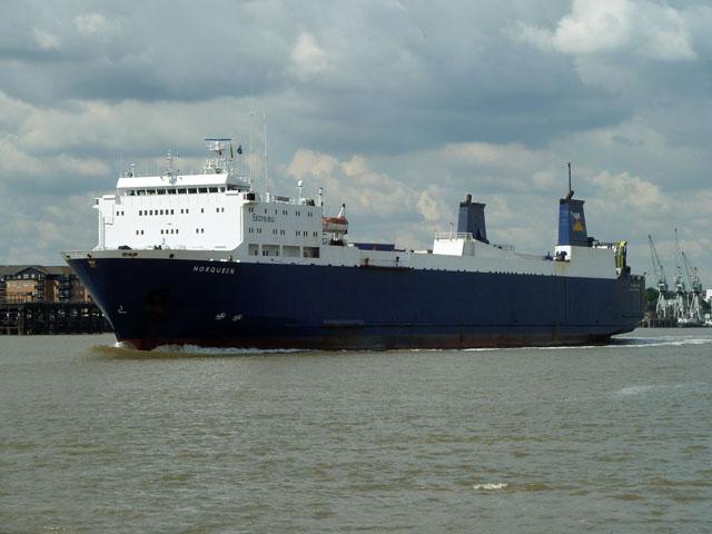 RoRo vessel 'Norqueen'