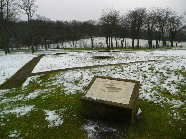 Bar Hill Roman Fort