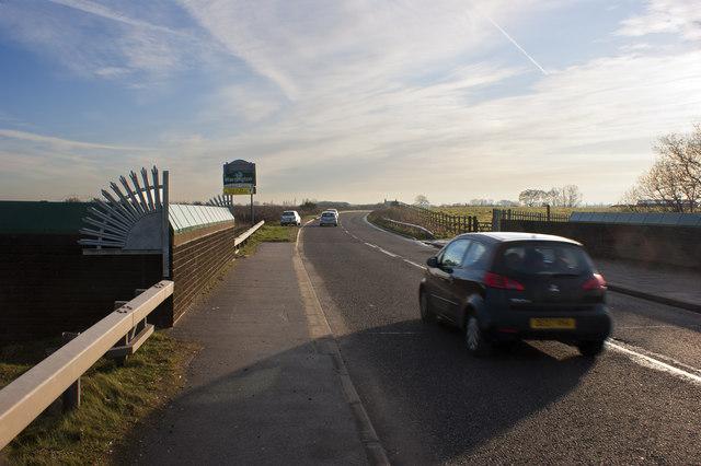 Dolly's Bridge on Winwick Lane
