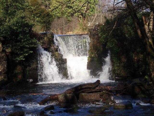 Sgwd Penllergaer Waterfall