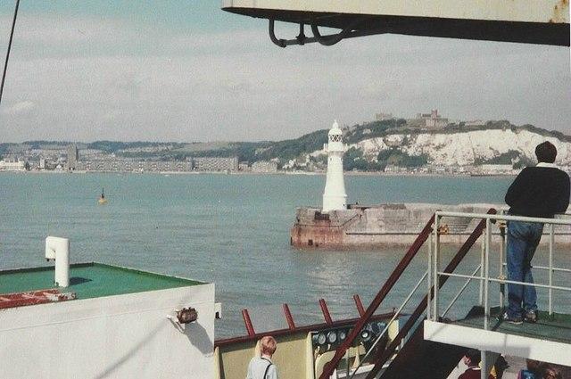 Leaving Dover in 1983