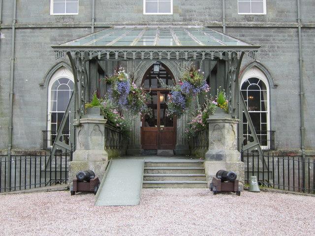 Inveraray Castle Entrance