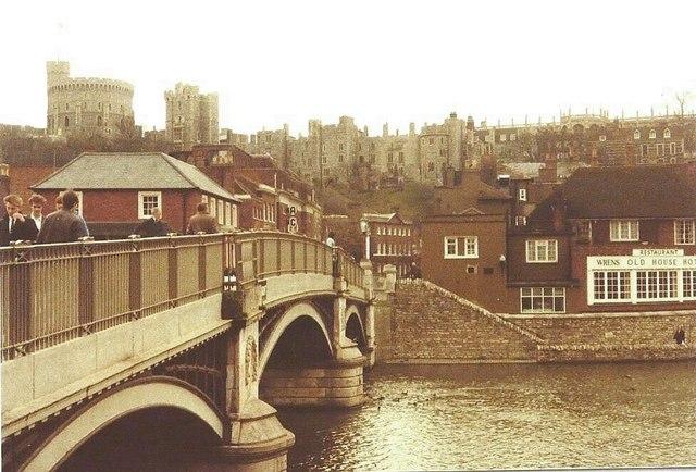 Windsor Bridge in 1984