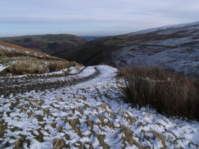The Track that leads to Craig y Mwn