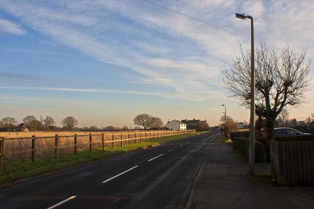 Heath Lane at New Lane End