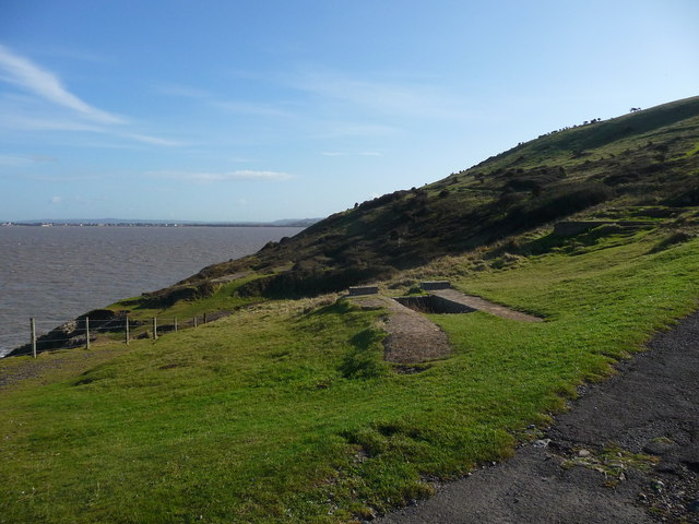 Brean Down - Building Base