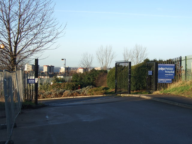Entrance to PDSA