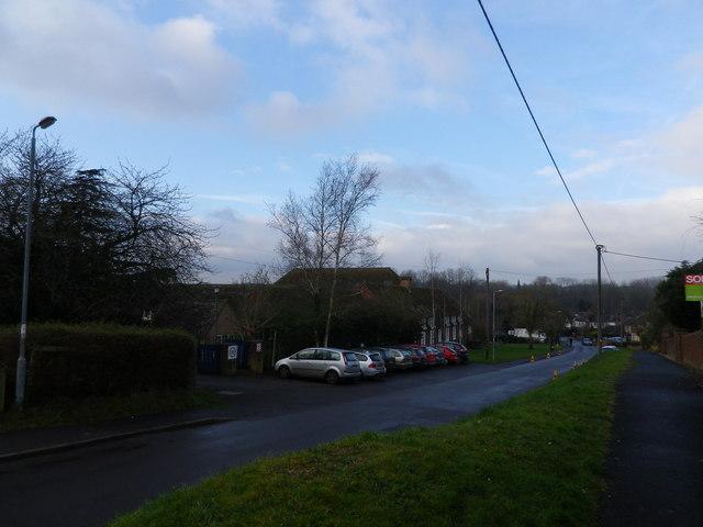 Cones in Micheldever Road