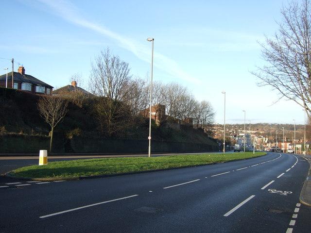 A63 towards Leeds